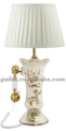 Noble Vintage Style Table Lamp With European Style Telephon Set