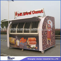 Street Fastfood From China Major Manufacture Fruits Mobile Food Cart