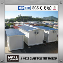 WELLCAMP 5000 Square Meter Labour Camp Modular Slope Prefab Container houses Living Prefabricated Container Houses For Manager