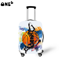 ONE2 design basketball sports photos fashion custom luggage cover