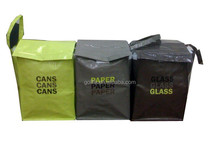 Rigid pp woven garbage classification bag