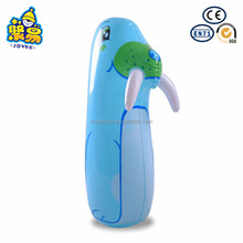 Eco-friendly full printing PVC roly-poly plastic inflatable animal tumbler