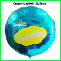 18 inches customized Print Balloons for Advertising Promotion