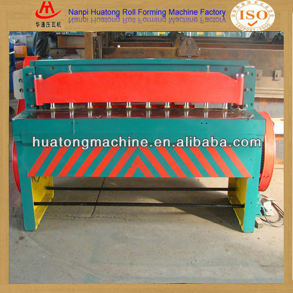 Aluminum sheet coil cutting machine