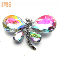New Rhinestone Butterfly Pin Brooch for Women Jewelry Party Accessories