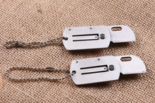 5CR15MOV stainless steel small folding pocket knife key chain knife gift promotion knife