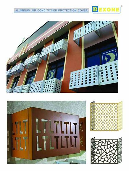 Metal Decorative Air Conditioner Covers Buy Decorative