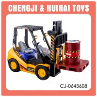6ch plastic toy 4wd rc hobby trucks with light