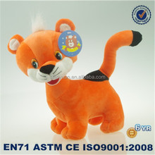 New 2015 product idea lifelike animal plush toy fox