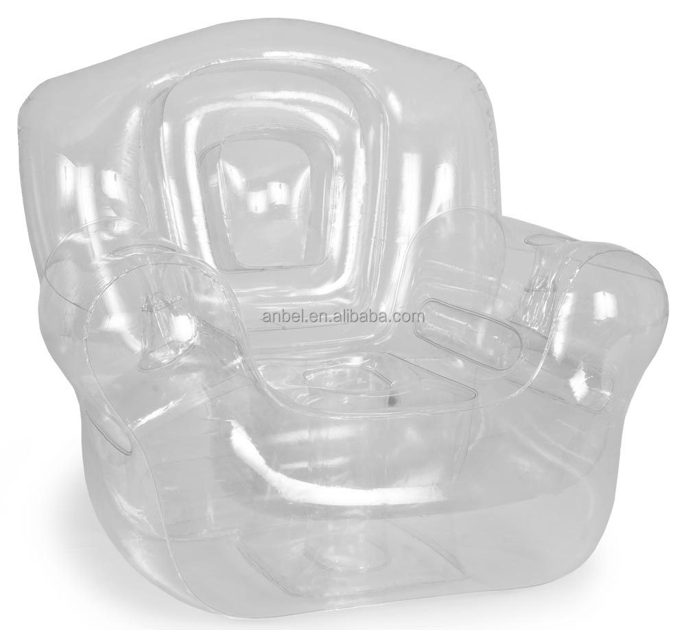Popular Transparent Inflatable Corner Chair Air Sofa