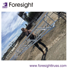 Professional aluminum stage truss and roof trusses with TUV certificate