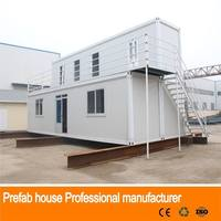 Professional cafe for prefabricated house porta cabin qatar