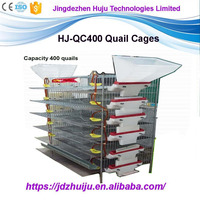welded wire mesh Mink breeding cage layer quail cages for sale for quail HJ-QCX400