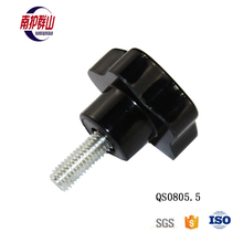 Quality Safety Plastic Machine Knob Screw