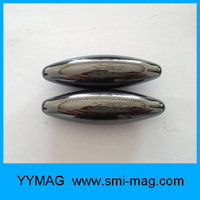 High quality ferrite magnetic toy oval magnet singing magnets