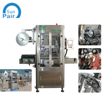 round and square bottles automatic sleeve labelling machine