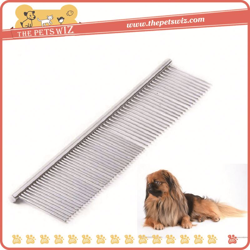 Fashion china supplier dog flea nit lice comb with handle ,p0wkx stainless steel comb for sale