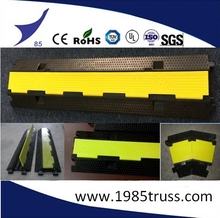 Cable covers, Rubber cable ramp Protector 5 Channel