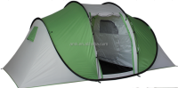 HOT SALES outdor camping one touch waterproof high quality family pop up tent