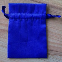 Royal Blue Satin Drawstring Bags - Great for Party/ Shower favors- Sachets