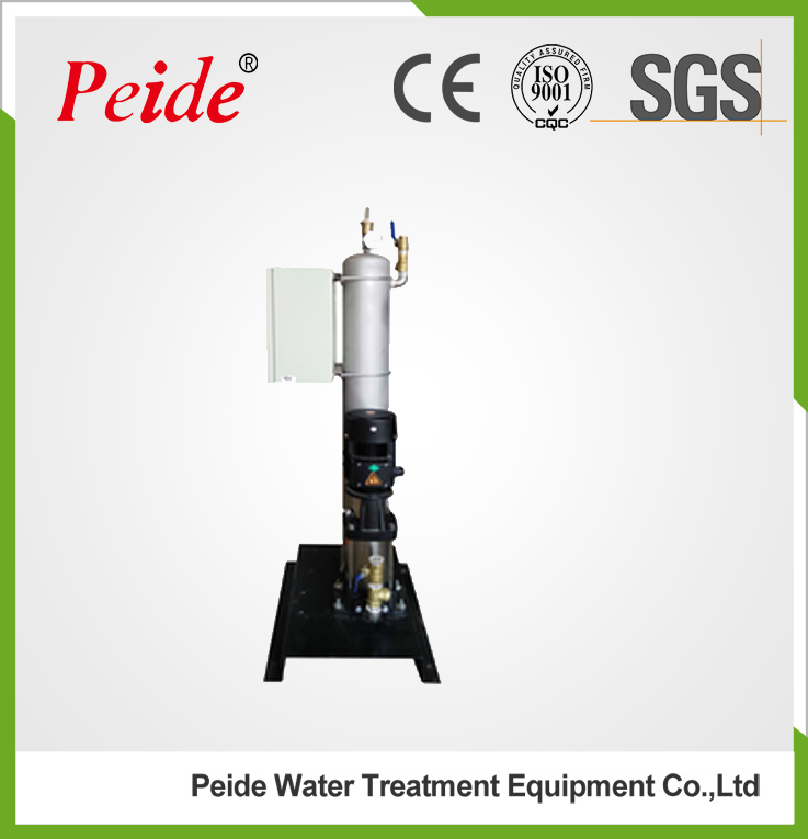 Vacuum degassing plant used for Circulating water system