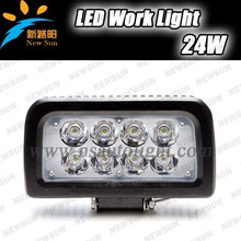 Factory direct 27w led work light 4 inch 24 watt led off road light 4 inches 24w led working lights