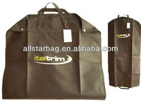 Non-woven Garment Bag ,Foldable Garment Suit Covers/dress cover