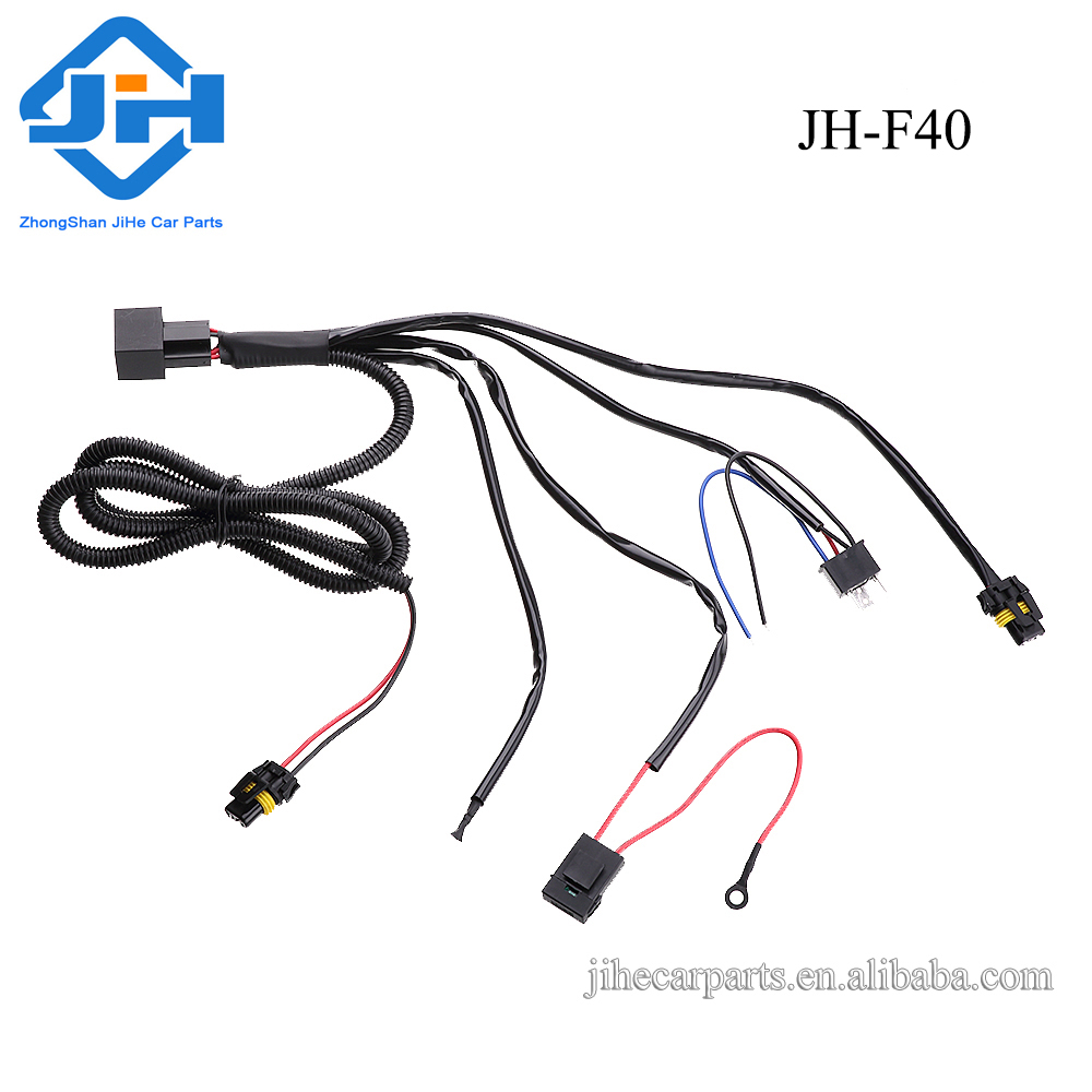 China made auto parts offroad hid car xenon bulb relay harness for hid lights