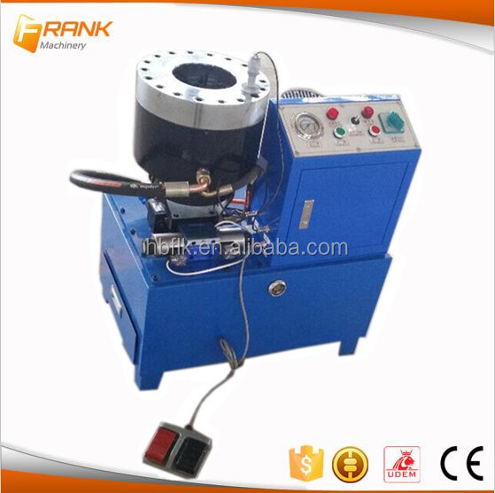 Machine supplier Mini Crimping Machine Press Hydraulic Hose in China
