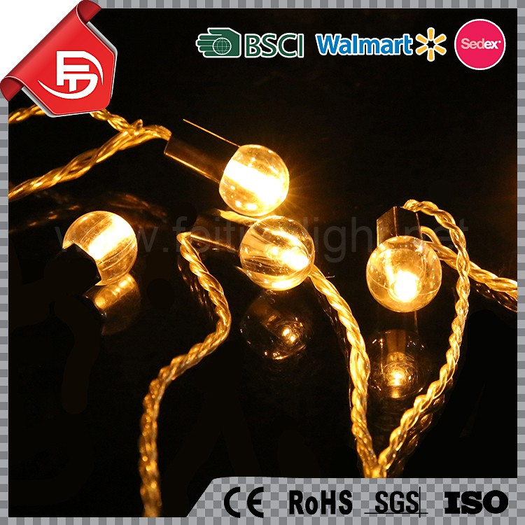 Home and garden decoration christmas pearl light string
