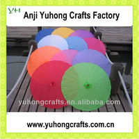 Colorful Silk Parasol Chinese Umbrella With