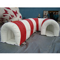 Cheap Customized tunnel shape inflatable water barrier obstacle