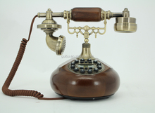 Wooden Antique Telephone,Modern Home Phone