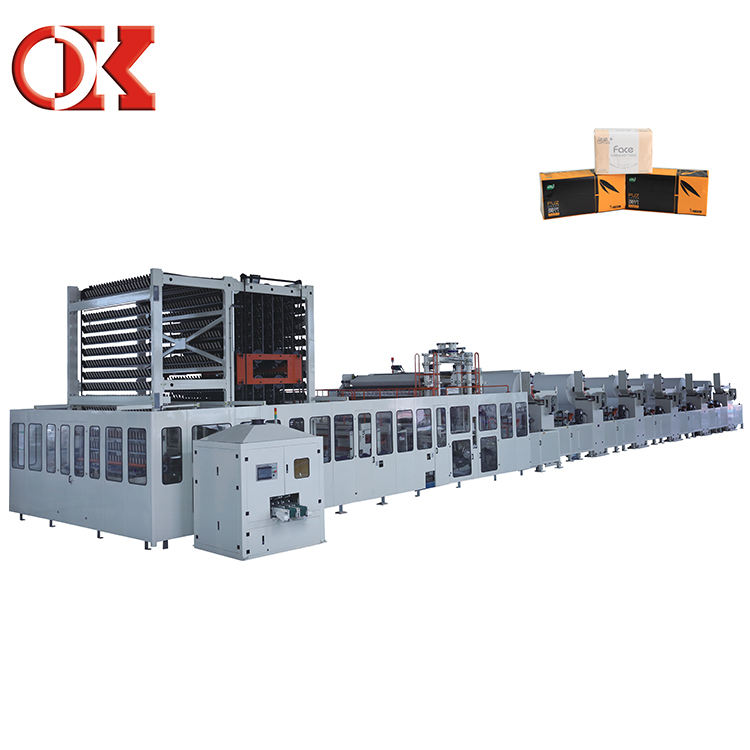 Simple Operation V Fold Facial Tissue Paper Machine For Sale Furniture