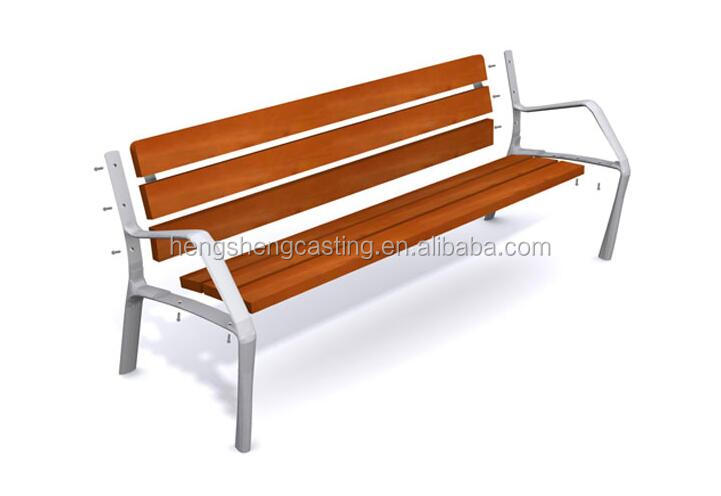 street urban decorative outdoor benches