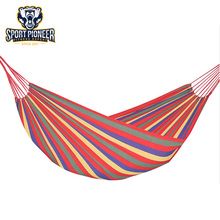 Outdoor portable canvas camping hammock