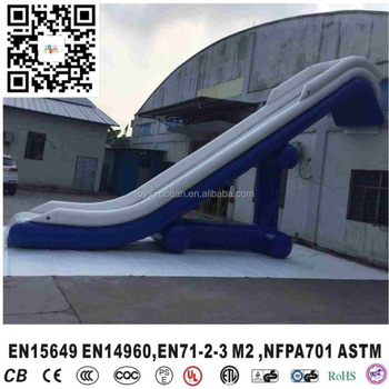 inflatable yacht sliding game yacht amusement inflatable water game for yacht
