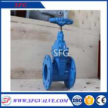 Ductile Iron BS5163 Resilient Seated Non Rising Stem Gate Valve PN25,DN50-DN300