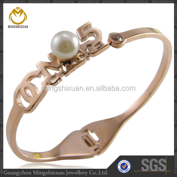 Wholesale Stainless Steel Custom Women Bangle Wholesale Jewelry from Dubai
