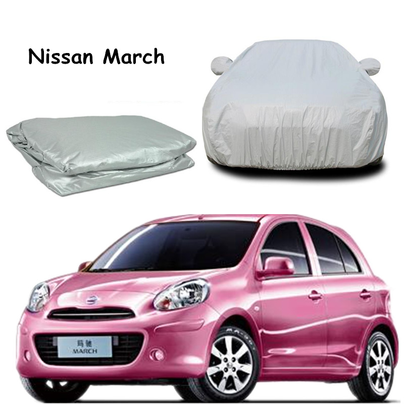 Hot Selling Motor Trend All Season Wear 1-Poly Layer Snow proof Water Resistant car cover For march