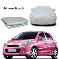 Hot Selling Motor Trend All Season Wear 1-Poly Layer Snow proof, Water Resistant car cover For march