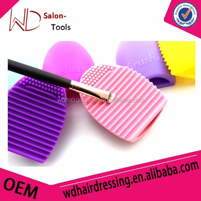 silicone brushegg cleaning brush egg cosmetic brush cleanser tools/.