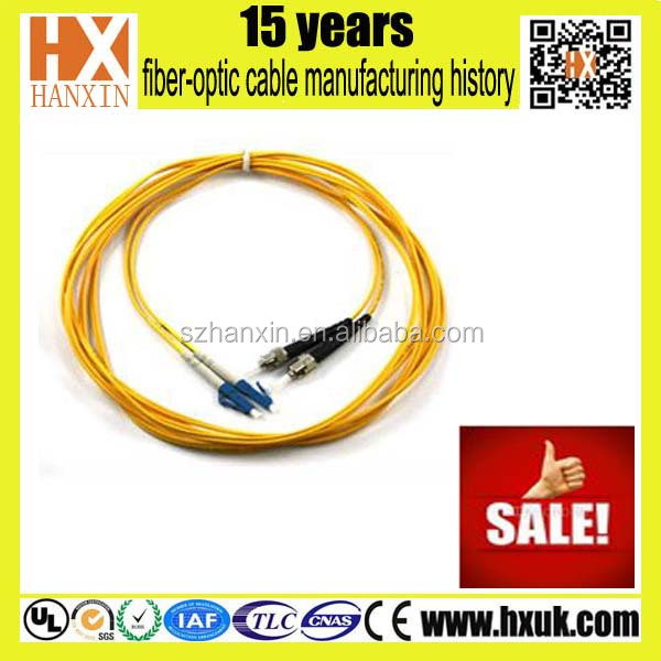 High speed transmission Systems fiber optical patch cable