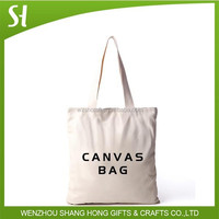 cotton tote bag/cotton shopping bag/standard size canvas tote bag