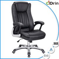 New product manager office chair with leather back