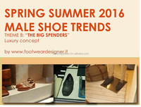Spring Summer 2016 Male Shoe Trends, Theme B