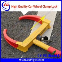 Anti-theft wheel clamps for trucks / alarm car steering wheel lock for rfid parking management system