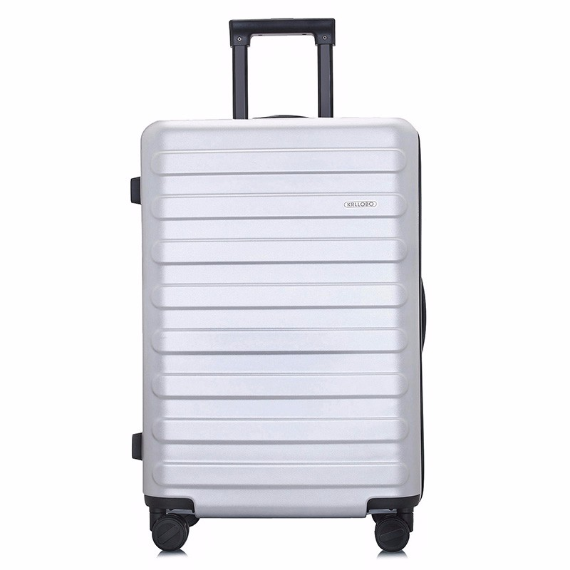 luster new stripes color <strong>abs</strong> luggage trolley case