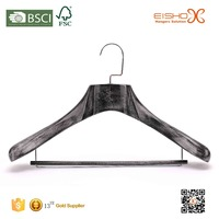 Eisho High End Wooden Coat Hanger Clothes Hanger Wooden Clothes Hanger Stand