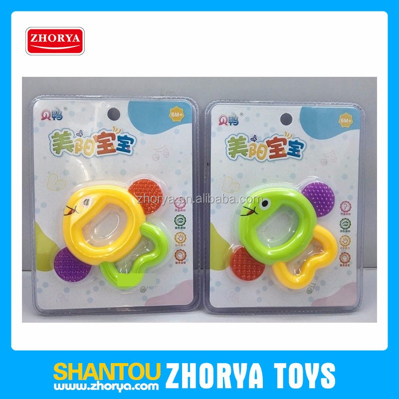 Non-toxic fish shape gutta-percha toy infant hand held shaking bell baby shaking hand bells